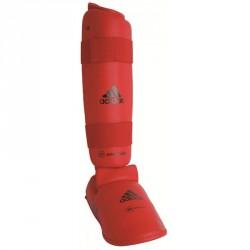 Adidas Schienbein Spannschützer Rot