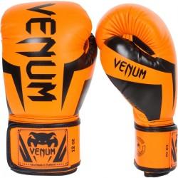 Venum Elite Boxing Gloves Orange