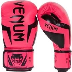 Venum Elite Boxing Gloves Pink