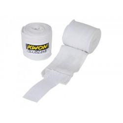 Kwon Clubline Boxbandage elastisch 250cm weiss