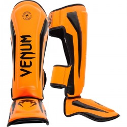 Venum Elite Standup Shinguards Orange