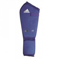 Adidas Schienbein Spannschutz Climacool Blau