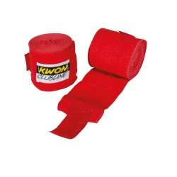 Kwon Clubline Boxbandage elastisch 250cm rot