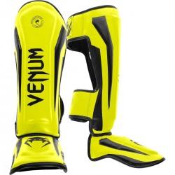 Venum Elite Standup Shinguards Yellow