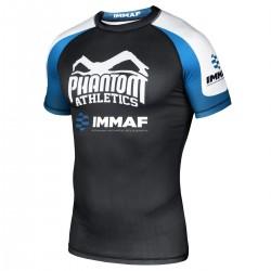 Phantom  IMMAF Rashguard Black Blue White