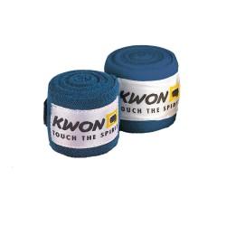 Kwon Boxbandage unelastisch 450cm blau