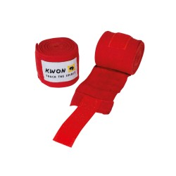 Kwon Boxbandagen elastisch 250cm rot