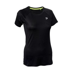 ju-Sports Gym Line Tee Basic schwarz
