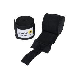 Kwon Boxbandagen elastisch 250cm schwarz