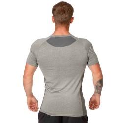 ju-Sports Gym Line Tee Basic Mann grau