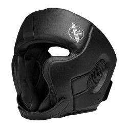 Hayabusa T3 Chinless Kopfschutz Black