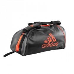 Adidas Training 2in1 Sporttasche Schwarz Solar Orange