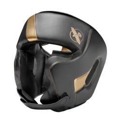 Hayabusa T3 Chinless Kopfschutz Black Gold