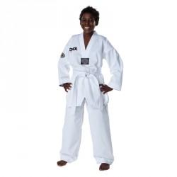 DAX Taekwondo Dobok Vision Kids Revers Weiss
