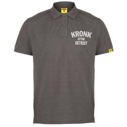 Kronk Polo T-Shirt Charcoal