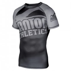 Phantom  Supporter 2.0 Rashguard Black Grey SS