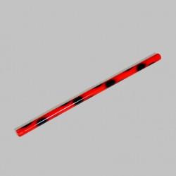 Phoenix Escrima Stock 65cm Rattan Rot Schwarz