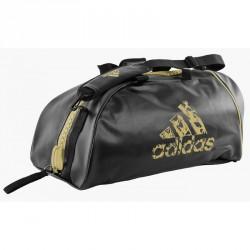 Adidas Training 2in1 Sporttasche Schwarz Gold