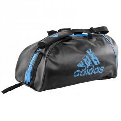 Adidas Training 2in1 Sporttasche Schwarz Solar Blau