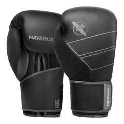 Hayabusa S4 Leder Boxhandschuhe Black