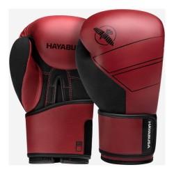 Hayabusa S4 Leder Boxhandschuhe Red