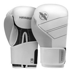Hayabusa S4 Leder Boxhandschuhe White
