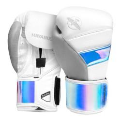 Hayabusa T3 Boxhandschuhe Iridescent White