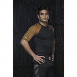 Abverkauf Adidas IBJJF Rashguard SS Black Brown
