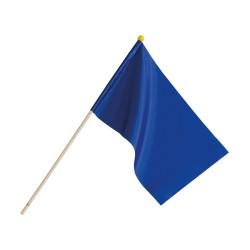 Kwon Punktrichter Fähnchen blau