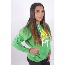 Abverkauf Adidas Community Hoodie BJJ Green Kids