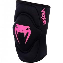 Venum Kontact Gel Knee Pad Black Neo Pink
