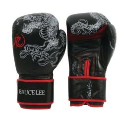 Bruce Lee Dragon Deluxe Boxhandschuhe Leder