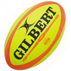 Gilbert Rugby Ball Omega Fluorescent Gr.5