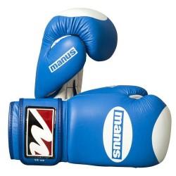 Manus Competition 10oz Boxhandschuhe Blue White