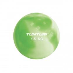 Tunturi Yoga Toningbal 1.5kg Grün