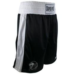 Super Pro Club Boxing Short Schwarz Weiss
