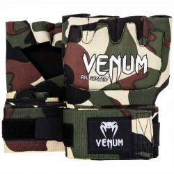 Venum Kontact Gel Glove Wraps Black Forest Camo