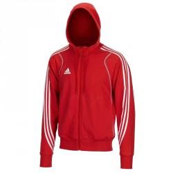 Abverkauf Adidas T8 Team Hoody Jugend rot