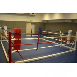 Phoenix Box Trainingsring 6x6m Seile 5x5m Flachring