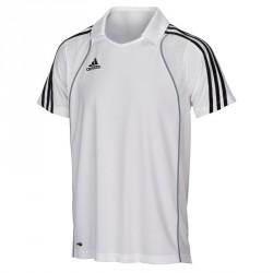 Abverkauf Adidas T8 Clima Polo Shirt Herren Weiss