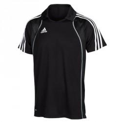 Abverkauf Adidas T8 Clima Polo Shirt Herren Schwarz