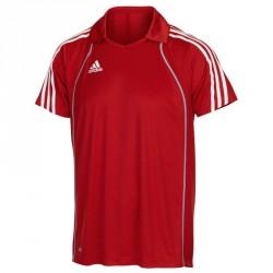 Abverkauf Adidas T8 Clima Polo Shirt Herren Rot