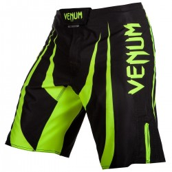 Venum Predator X Fightshorts Black Neo Yellow