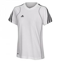 Abverkauf Adidas T8 Team T-Shirt Frauen Weiss