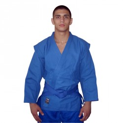 DAX Sambo Jacke Mit Gürtel Blau