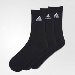 Abverkauf Adidas Socken Lang Schwarz 3er Pack
