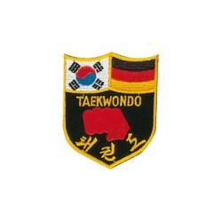 Kwon Stickabzeichen Deutsch Koreanisches TKD Abzeichen