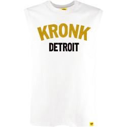 Kronk Two Colour Detroit SL T-Shirt White