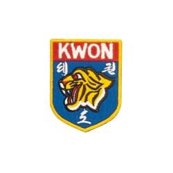 Kwon Stickabzeichen Tigerkopf