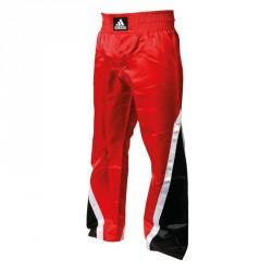 Abverkauf Adidas Kickboxhose Team Rot Schwarz